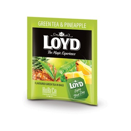 Herbata LOYD Green Tea Pineapple 1,7g x 20 szt