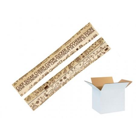 Cukier w paluszkach TRZCINOWY 4g x 1000 szt