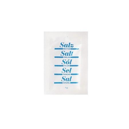 Sól spożywcza w saszetkach 1g x 2000 szt