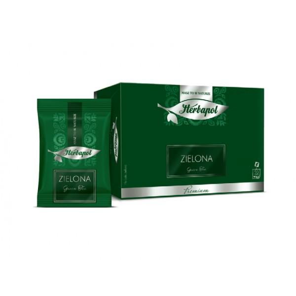 Herbata HERBAPOL Premium zielona 2g x 20 szt