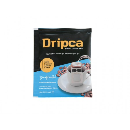 Dripca kawa mielona z filtrem BEZKOFEINOWA x 5 szt.
