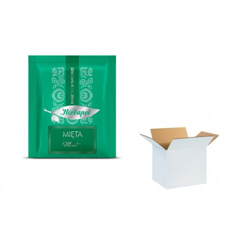 Herbata HERBAPOL miętowa 2g x 1000 szt
