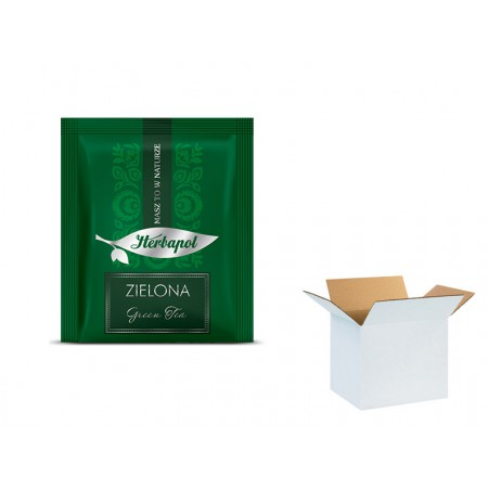 Herbata HERBAPOL zielona 2g x 1000 szt