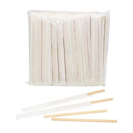 Mieszadełka drewniane w papierku x 500 szt