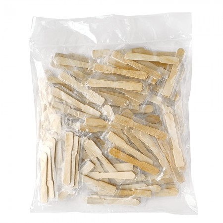 Patyczki do lodów drewniane pakowane pojedynczo x 250 szt