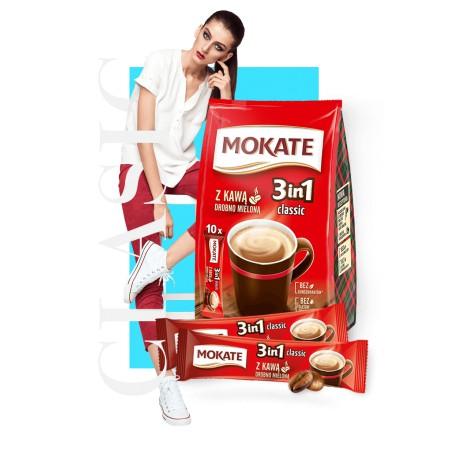 Kawa MOKATE 3w1 w saszetkach 17g x 24 szt