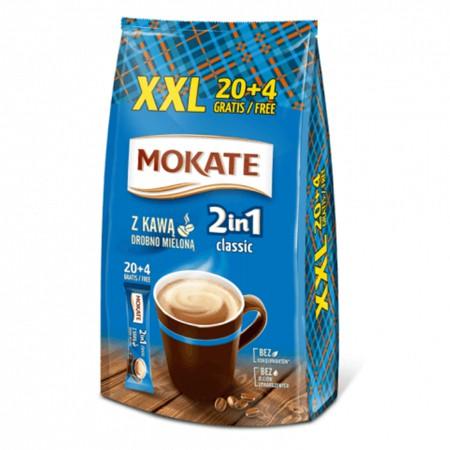 Kawa MOKATE 2w1 w saszetkach 17g x 24 szt