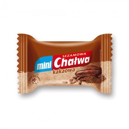 Chałwa mini sezamowa kakaowa 20g x 45 szt